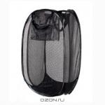 "Корзина-сетка для белья""Luminell"", размер 36 см х 36 см х 58 см"