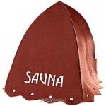 """Шапка для бани и сауны """"Сауна"""", цвет: коричневый"""