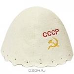 """Шапка для бани и сауны """"СССР"""""""
